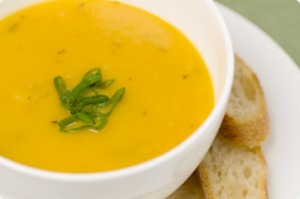 "soup- warming especially for those Melbourne souls who face the ""4 seasons in one day"" weather down south!"