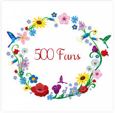 500 Facebook Fans!